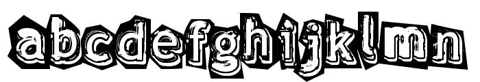 verdy �volution Font UPPERCASE