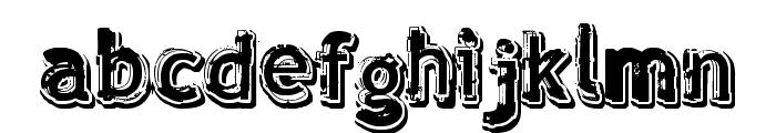 verdy �volution Font LOWERCASE