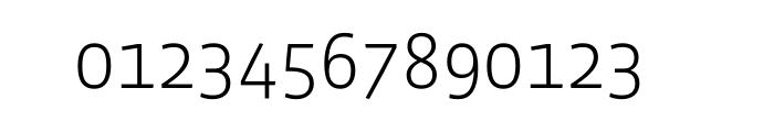 Vista Sans Light OT Font OTHER CHARS