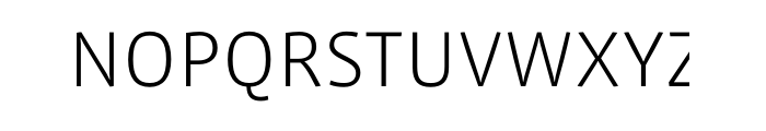 Vista Sans Light OT Font UPPERCASE