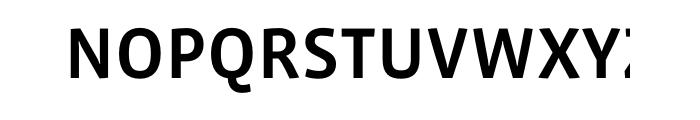 Vista Sans Medium OT Font UPPERCASE