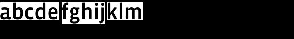 Vista Sans OT Medium Font LOWERCASE