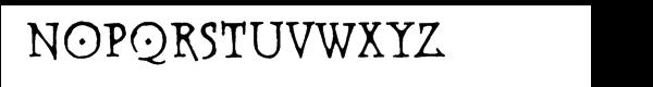 Warhorse BB Deco Font UPPERCASE