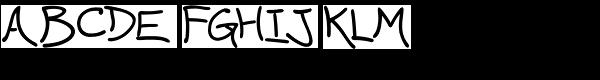 Wavy Gravy Font UPPERCASE