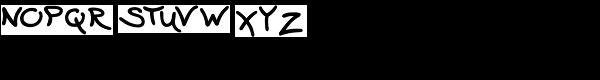 Wavy Gravy Font LOWERCASE