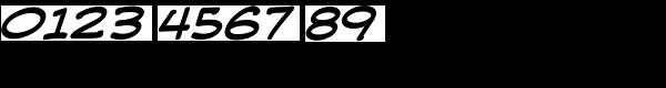Web Letterer Pro BB Italic Font OTHER CHARS