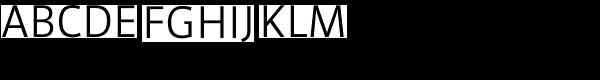 Werk LF Regular Font UPPERCASE