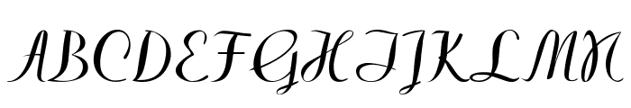 Westfield Font UPPERCASE
