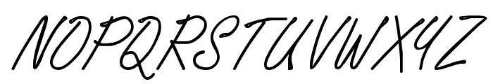 WhisperWrite Medium Font UPPERCASE