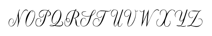 Willegha Tryout Font UPPERCASE