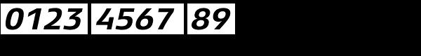 Xenois Sans Pro Bold Italic Font OTHER CHARS