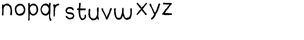 Yearnboy 11 Font LOWERCASE