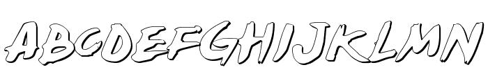 Yellowjacket Shadow Font UPPERCASE