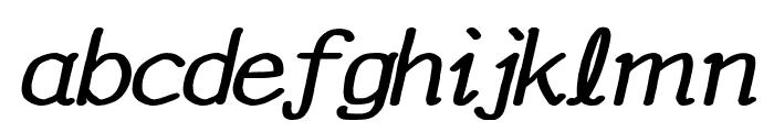 YOzFontAP97 Bold Italic Font LOWERCASE