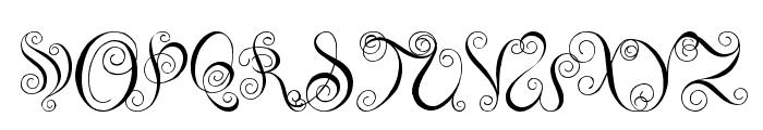 You Are Precious Font UPPERCASE
