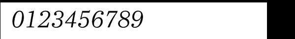 Ysobel Pro Light Italic Font OTHER CHARS