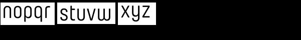 Yummo Font LOWERCASE