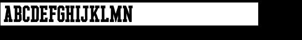 YWFT League Bold Font UPPERCASE