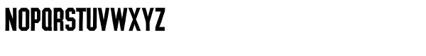 YWFT League Bold Font LOWERCASE