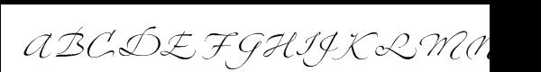 Zapfino™ Four Font UPPERCASE