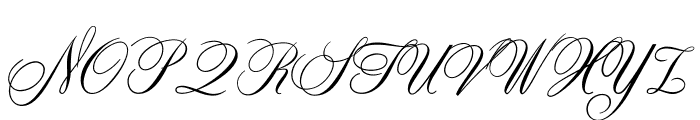 ZenithCP Font UPPERCASE