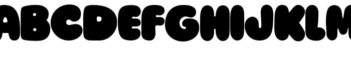 Ziclets Font UPPERCASE