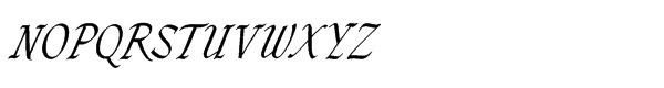 Zola Std Regular Font UPPERCASE