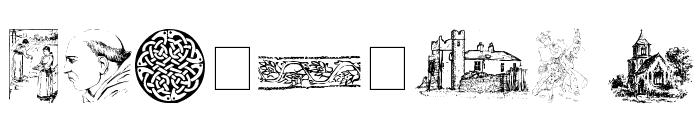 001 Medieval Daze Font OTHER CHARS