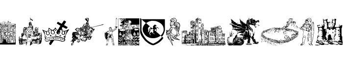 001 Medieval Daze Font LOWERCASE