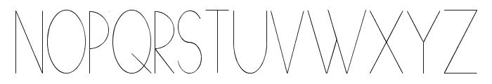 [[[O]]] Basic Font UPPERCASE