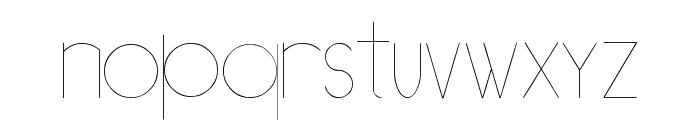 [[[O]]] Basic Font LOWERCASE