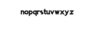 01 Space.otf Font LOWERCASE