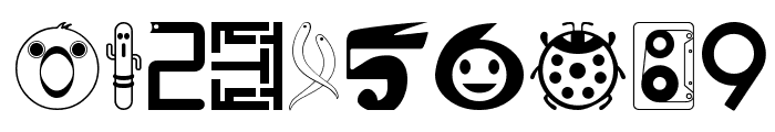 01FontremixType38 Font OTHER CHARS