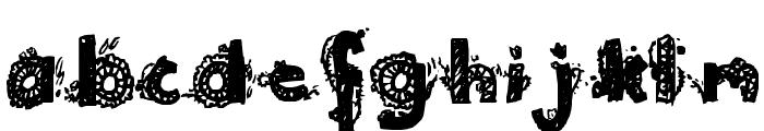 ~1925~ Font LOWERCASE