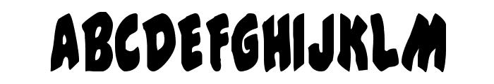 #44 Font Condensed Font UPPERCASE