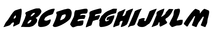 #44 Font Italic Font LOWERCASE