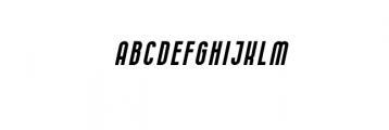 05.CURVE Calibration Thin italic.otf Font UPPERCASE