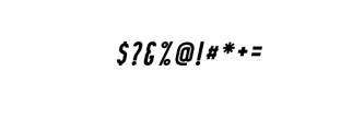 07. Curve Calibartion italic.otf Font OTHER CHARS