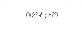 (AgashiSignatureFont.otf) Font OTHER CHARS