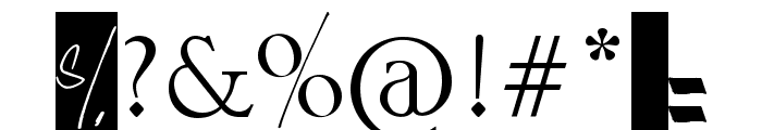 [AULA 402] Font OTHER CHARS