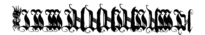 [BichOGothic] Font OTHER CHARS