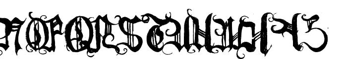 [BichOGothic] Font UPPERCASE