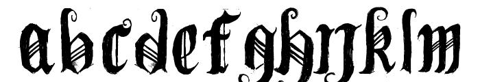 [BichOGothic] Font LOWERCASE