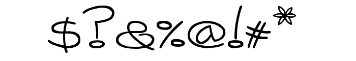 [Catalina] Font OTHER CHARS