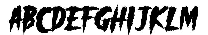 _CHAOS! DEMO Font UPPERCASE