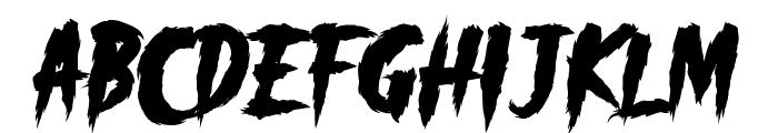 _CHAOS! DEMO Font LOWERCASE