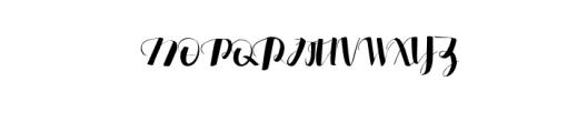 .edfander.otf Font UPPERCASE