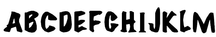 ?FlareBold Font UPPERCASE