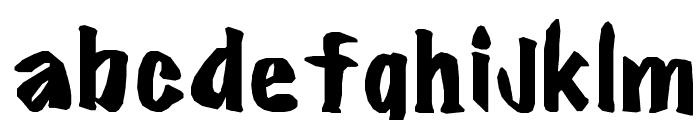 ?FlareBold Font LOWERCASE