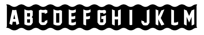 [FoOtY-ScArF] Font UPPERCASE